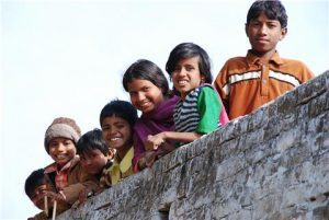 Children in a polio-free India WHO / Fred Caillette