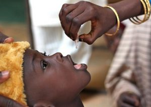 Global leaders make pledges of US$ 4 billion towards polio eradication WHO/T.Moran