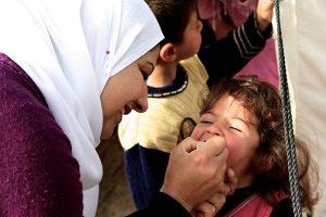 Feria, Polio Vaccinator UNICEF
