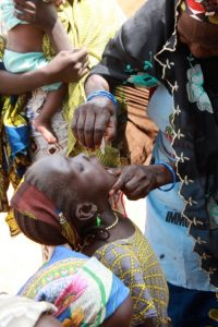 Low immunization coverage in areas like Katsina is one of the biggest risks to stopping polio in Nigeria. © WHO/T. Moran