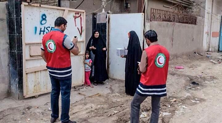 Iraqi Red Crescent Society Surveyors: polio post-campaign monitoring