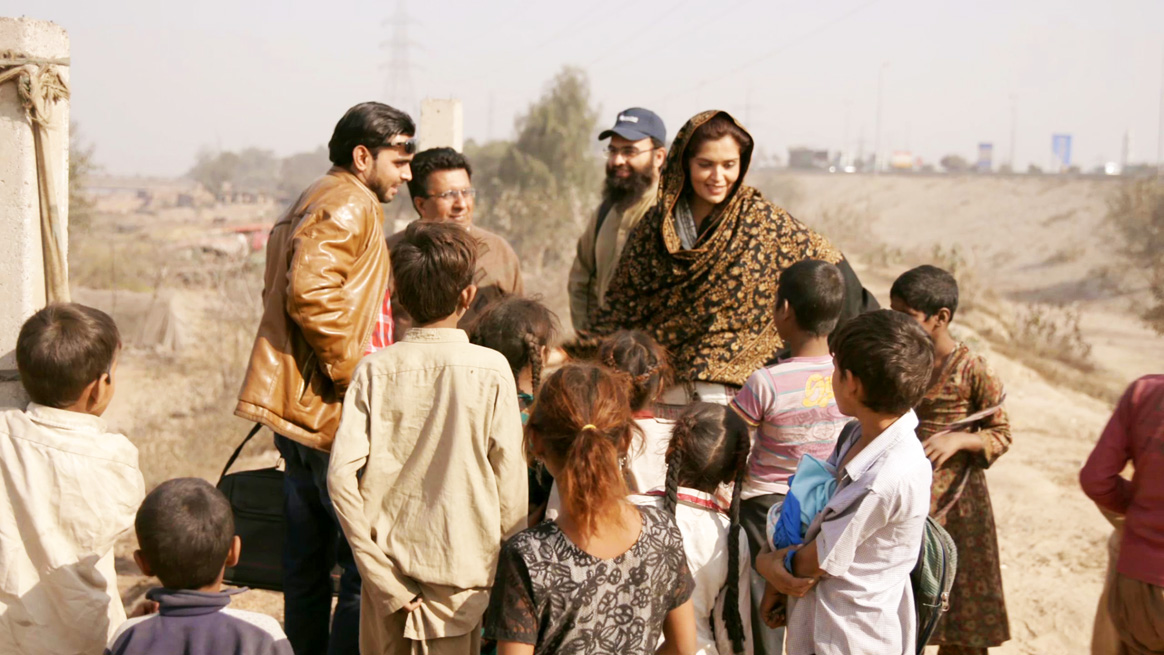 Dr Ujala Nayyar during one of her field visits. © Rotary International