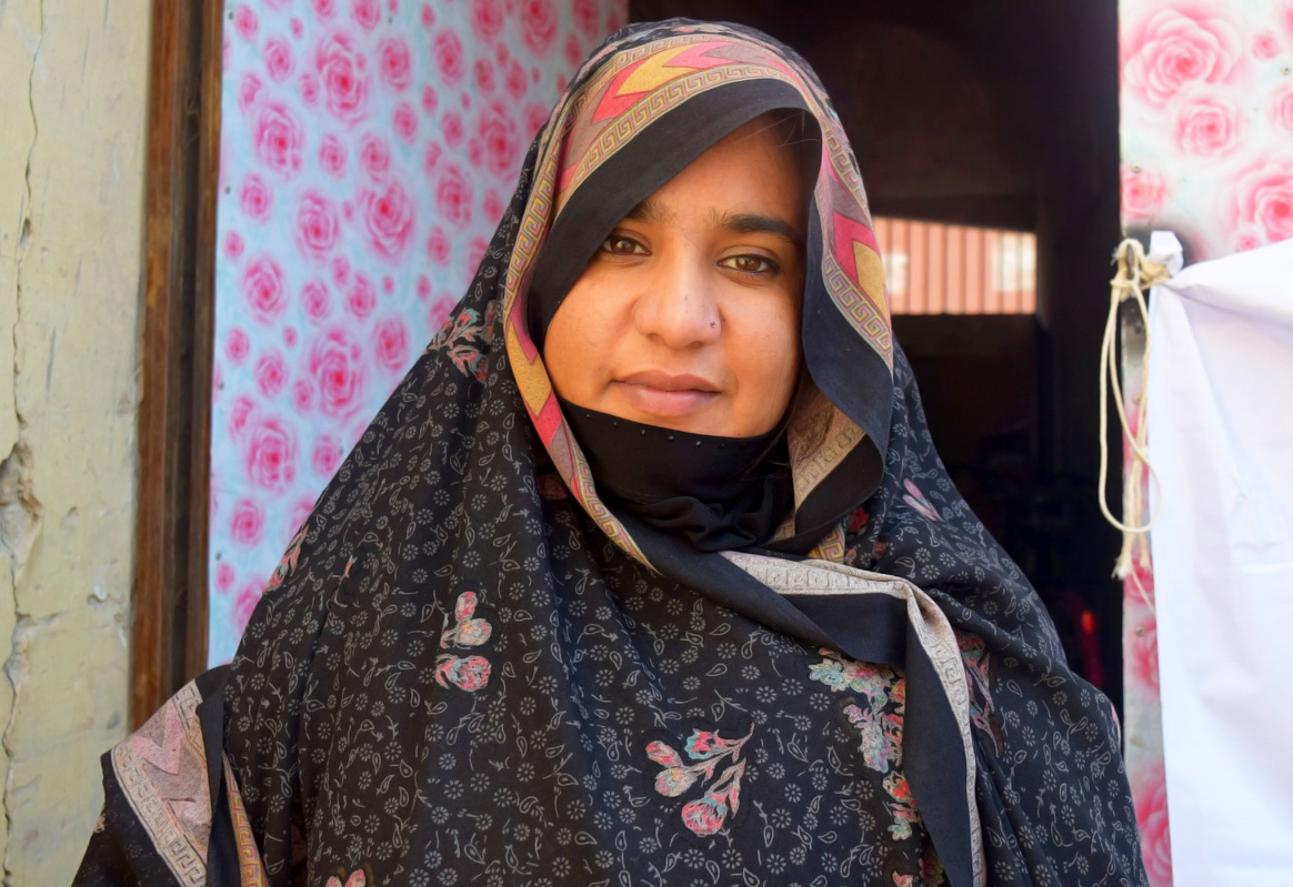 Sahiqa from Quetta, Balochistan, is one of thousands of female health workers, constituting 56% of frontline workers in Pakistan. © WHO Pakistan/S.Gull