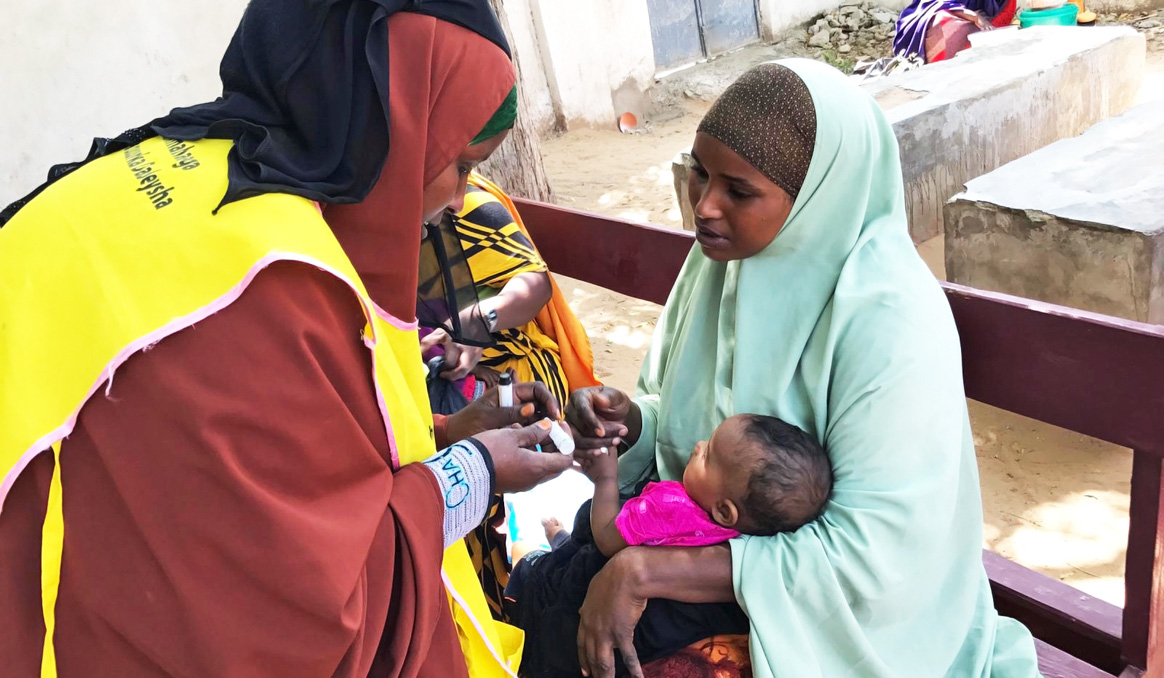 Women are the true driving force of the polio programme in Somalia. © WHO Somalia