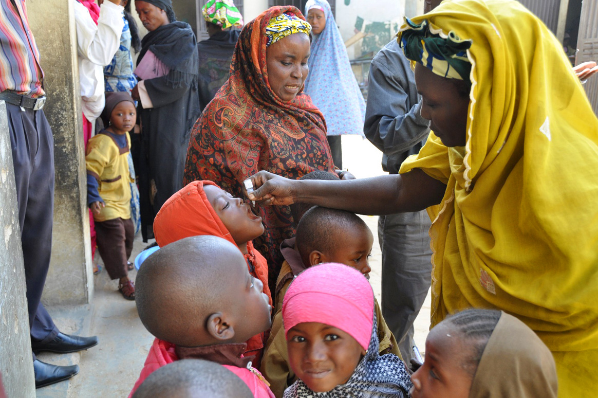 Nigeria has been free of wild poliovirus for three years thanks to hardworking health workers and parents. © WHO