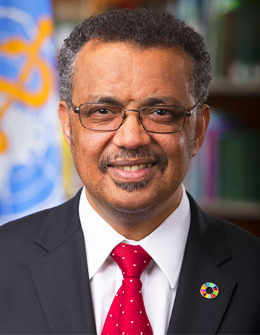 Dr Tedros Adhanom Ghebreyesus, Director-General of the World Health Organization and Chair of the Polio Oversight Board